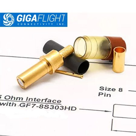 GigaFlight Coaxial Contacts