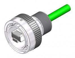 Cat 6a Plug - 26482 Style