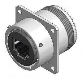 Cat 6a Square Flange - 26482 Style