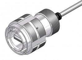 USB-A 2.0 Plug - 38999 Style