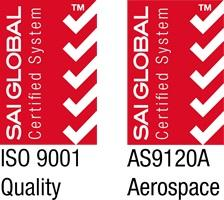 Quality Management System Aerospace ISO 9001:2008 + AS9100C & AS9120A