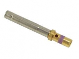 Contact, Electrical, Socket, Gold, Size 16, Wire 16-18 AWG - Click for more info