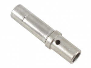 Contact, Electrical, Socket, Nickel, Size 12, Wire 12-14 AWG - Click for more info