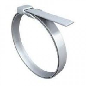 Termination Band, Coiled, .250 x 14.25, Stamped Buckle - Click for more info