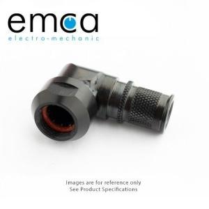 Banding Backshell, 90 Degree, Size 13, Entry 15.5mm, Hybrid - Click for more info