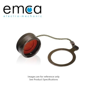 Protective Cover, Receptacle, Shell Size 14, Al-Cd - Click for more info