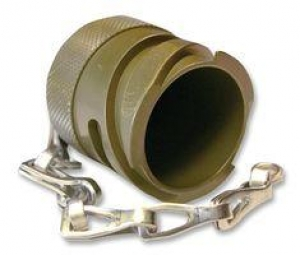Metal Protecting Caps for Plugs with Chain, Size 32, Al-Cd - Click for more info