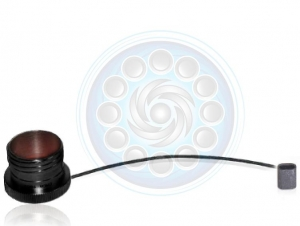 Protective Cap, Plug, Size 11, Black Wire Rope With Crimp , Zn-Ni Black - Click for more info
