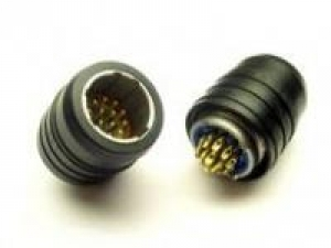 Connector, Plug Audio, 14 Contacts, Polarization N - Click for more info