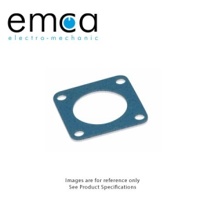 EMI/RFI Gasket, Shell Size 21, Fluorsilicone With Ag/Al Conductive Filler - Click for more info