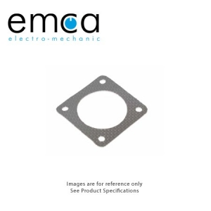 EMI/RFI Gasket, Shell Size 13, Silicone With Woven Aluminum Wire Mesh Screen - Click for more info