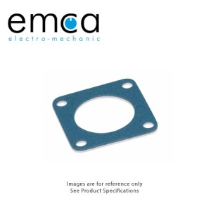 EMI/RFI Gasket, Shell Size 10, Fluorsilicone with Ag/Al Conductive Filler - Click for more info