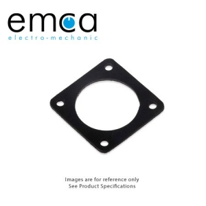 EMI/RFI Gasket, Shell Size 10, Fluorsilicone - Click for more info