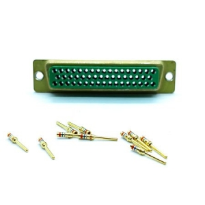 D-Subminiature, Standard D, Crimp, 50 Way, Male - Click for more info