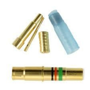 Shielded Coaxial Contact, Size 8, Socket - Click for more info