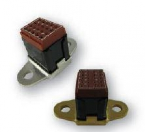 Socket Ground Module, Flange Mount, Size 16 - Click for more info