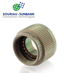 Non-Self-Locking E-Nut Backshell, Al-Cd - Click for more info