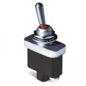 Toggle Switch, 1 pole, 2 position, Screw terminal, Standard Lever - Click for more info