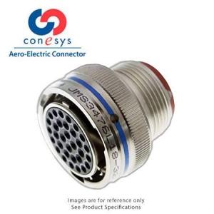 Connector, RFI Grounding Straight Plug, Crimp, Al-Ni - Click for more info