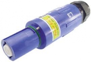 Powerlock Connector, Line Drain, Blue, 400amp - Click for more info