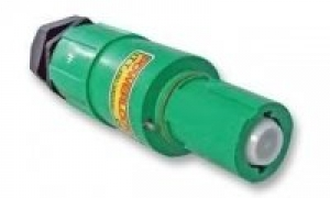 Powerlock Connector, Line Drain, Green, 400amp - Click for more info