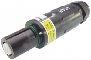 Powerlock Connector, Line Drain, Black, 400amp - Click for more info