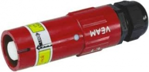 Powerlock Connector, Line Source, Red, 400amp, USA - Click for more info