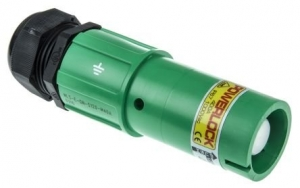 Powerlock Connector, Line Source, Green, 660amp - Click for more info