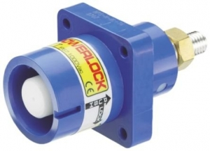 Powerlock, Panel Source Male, Blue, 400amp - Click for more info