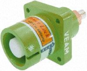 Powerlock, Panel Source Male, Green, 400amp - Click for more info