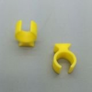 Circuit Breaker Lockout Ring with hole (Yellow) - Click for more info